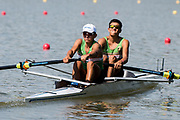 Plovdiv BULGARIA. 2017 FISA. Rowing World U23 Championships. MEX BLM2-. Bow. GONZALEZ, Francisco and PERALTA, Adolfo<br /> <br /> Wednesday. PM,  Heats 16:40:04  Wednesday  19.07.17   <br /> <br /> [Mandatory Credit. Peter SPURRIER/Intersport Images].