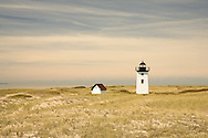 Wood End Light is one of three Cape-tip lighthouses guiging boats arround the end of Cape Cod.