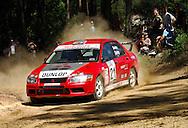 Denis & Jacque Dunlop.Motorsport-Rally/2008 Coffs Coast Rally.Heat 1.Coffs Harbour, NSW.15th of November 2008.(C) Joel Strickland Photographics