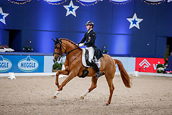WAGNER Nicolas (LUX), Quater Back Junior FRH <br /> München - Munich Indoors 2019<br /> Deutsche Bank Preis<br /> FEI Grand Prix Special (CDI4*)<br /> 24. November 2019<br /> © www.sportfotos-lafrentz.de/Stefan Lafrentz