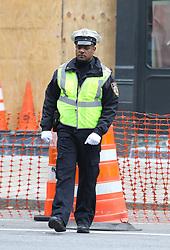 "Priyanka Chopra and Blair Underwood are pictured filming ""Quantico"" on SuperBowl weekend in Manhattan's TriBeCa neighborhood. 04 Feb 2018 Pictured: Blair Underwood. Photo credit: LRNYC / MEGA TheMegaAgency.com +1 888 505 6342"