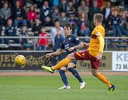 Dundee's Jesse Curran. Dundee 1 v 3 Motherwell, SPFL Ladbrokes Premiership game played 1/9/2018 at Dundee's Kilmac stadium Dens Park