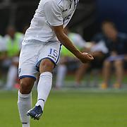 Roger Espinoza, Honduras, in action during the Israel V Honduras  International Friendly football match at Citi Field, Queens, New York, USA. 2nd June 2013. Photo Tim Clayton