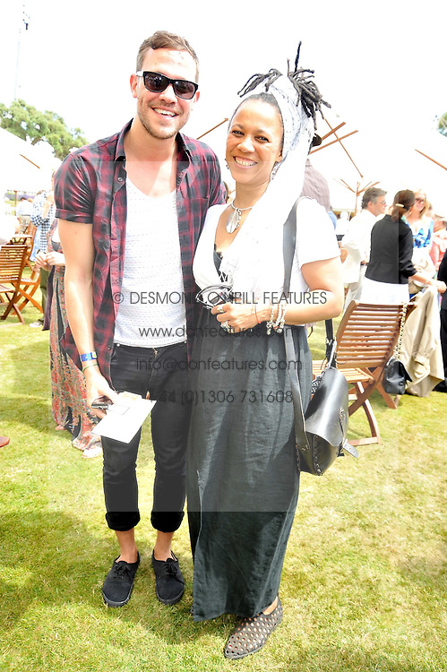 NIMMY MARCH and WILL YOUNG at a luncheon hosted by Cartier for their sponsorship of the Style et Luxe part of the Goodwood Festival of Speed at Goodwood House, West Sussex on 5th July 2009.