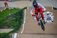 #149 (BUTTI Cedric) SUI at Round 2 of the 2020 UCI BMX Supercross World Cup in Shepparton, Australia.