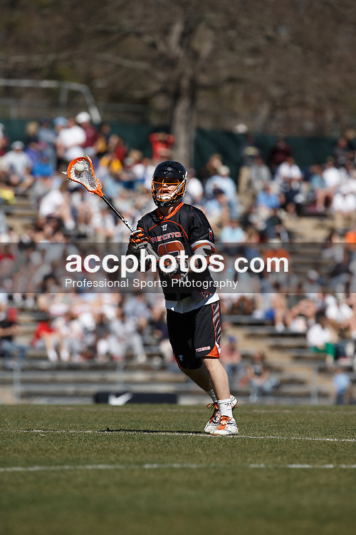 CHAPEL HILL, NC - MARCH 09: Kip Orban #13 of the Princeton Tigers during a game against the North Carolina Tar Heels on March 09, 2013 at the Fetzer Field in Chapel Hill, North Carolina. North Carolina won 15-16.