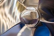 A Teignbridge bespoke propeller - The London Boat Show opens at the Excel centre. London 06 Jan 2017