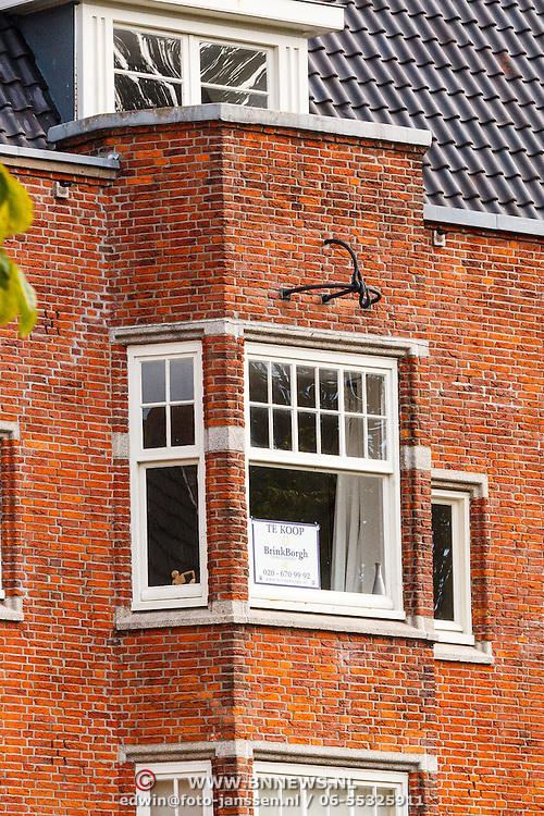 NLD/Amsterdam/20150829 - Vermoedelijk gekochte woning door Victor Reinier Amsterdam