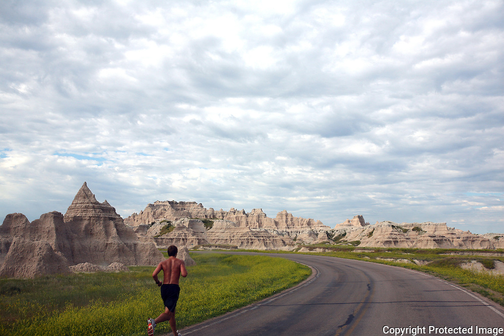 General photos of The badlands of South Dakota and beyond.