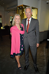 ROD & DEBBIE FABRICIUS at a party to celebrate the publication of the Summer edition og the Fitzdares Times held at Theo Fennell, 169 Fulham Road, London on 13th June 2016.