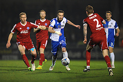 Bristol Rovers' Andy Monkhouse - Photo mandatory by-line: Dougie Allward/JMP - Mobile: 07966 386802 - 20/03/2015 - SPORT - Football - England - Memorial Stadium - Bristol Rovers v Aldershot - Vanarama Football Conference