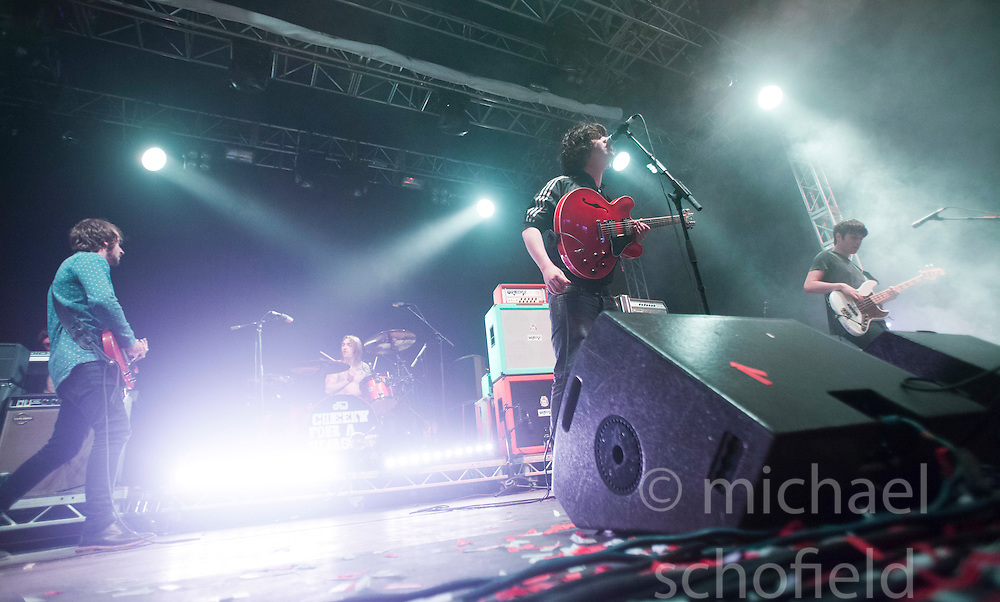 The View play the Goldenvoice Arena tent..Sunday at Rockness 2012..©Michael Schofield..