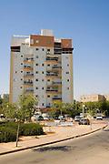 Israel, Negev, Be'er Sheva, A residential neighbourhood