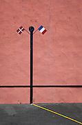 Pelota court, Bidart, Basque Country, France