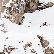 Sander Hadley massive daffey off the mid-zone Corbet's jump.