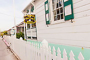 The exterior of the Albert Lowe museum on Green Turtle Cay, Bahamas.