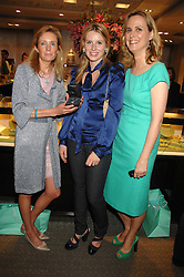 Left to right, LADY ALEXANDRA ELLETSON, LADY CONSTANCE MARQUIS and her mothe the HON.MRS (Sophie) MONTGOMERY at an evening of private shopping in aid of Elizabeth Fitzroy Support at Tiffany & Co, 145 Sloane Street, London on 14th May 2008.<br /><br />NON EXCLUSIVE - WORLD RIGHTS