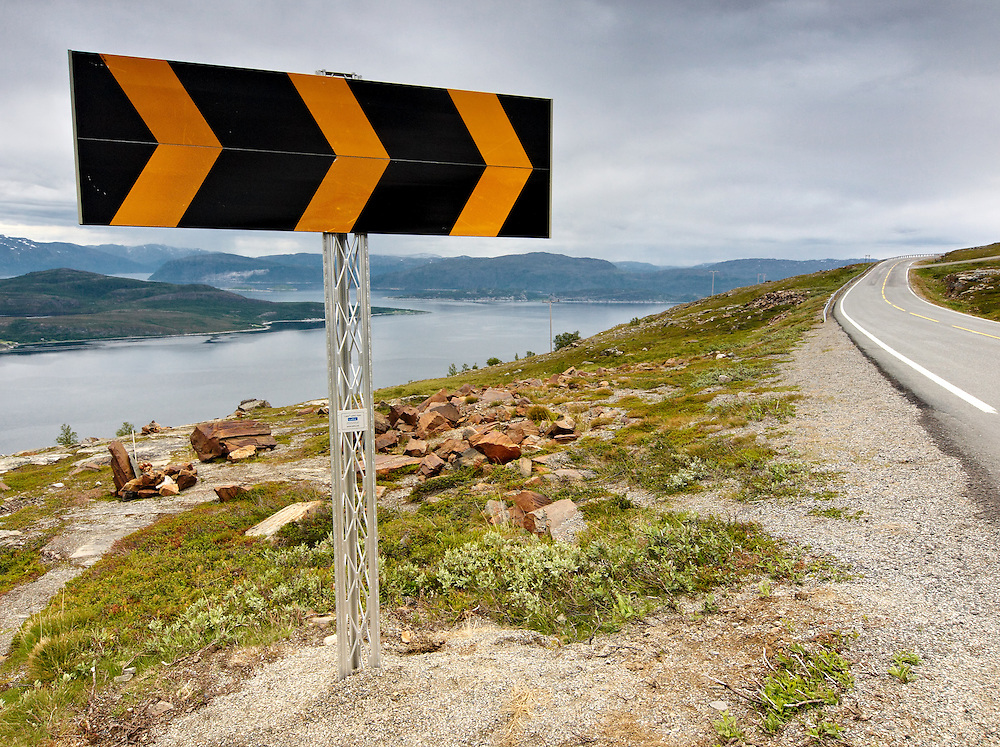 Norway - E6 road over Badderfjord
