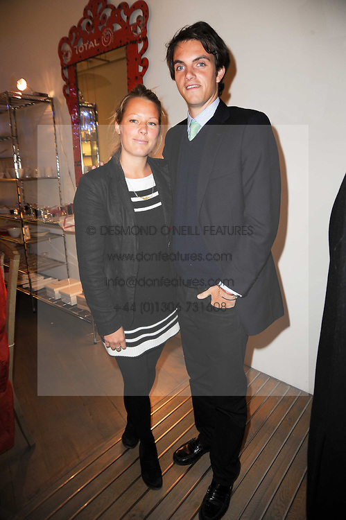 DAVINA HARBORD and VISCOUNT ERLEIGH at reception to raise funds for a Ugandan School Project supported by the Henry van Straubenzee Memorial Fund held at Few & Far, 242 Brompton Road, London SW3 on 11th February 2010.