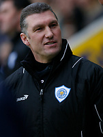 Photo: Steve Bond/Richard Lane Photography. Leicester City v Crystal Palace. E.ON FA Cup Third Round. 03/01/2009. Nigel Pearson on the touchline