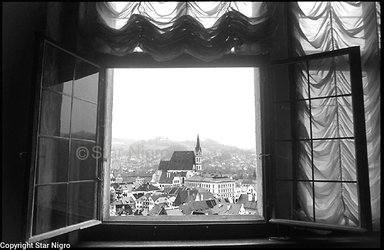 A Bohemian Castle View in the town of Cesky Krumlov, Czech Republic photo photo by Star Nigro<br /> <br /> ©2021 All artwork is the property of STAR NIGRO.  Reproduction is strictly prohibited.