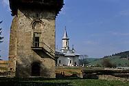 Romania.Humore. . painted monastery in Humore village        / monastère peint  a Humore