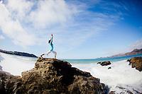 Daria Gershman at Baker Beach, San Francisco