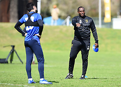 Cape Town-180823- Cape Town City coach Benni McCarthy busy with preparations for their up comingMTN 8 semi-final against Sundowns at Cape Town Stadum.Photographer :Phando Jikelo/African News Agency/ANA