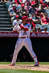 June 3, 2018 - Anaheim, CA, U.S. - ANAHEIM, CA - JUNE 03: XXXXX during the MLB regular season game against the Texas Rangers and the Los Angeles Angels of Anaheim on June 03, 2018 at Angel Stadium of Anaheim in Anaheim, CA. (Photo by Ric Tapia/Icon Sportswire) (Credit Image: © Ric Tapia/Icon SMI via ZUMA Press)