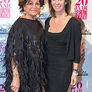 NLD/Amsterdam/20160118 -  Beau Monde Awards 2016, Kristine Kroonenberg en Annemarie van Gaal