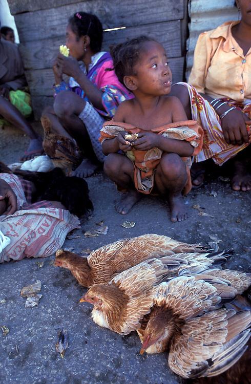 Market day, Fianarantsua, highlands