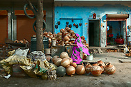 """It is a Hindi word used for an earthen pot. It is used all over India, as well as Pakistan, Bangladesh and Sri Lanka, as a home """"water storage cooler"""". It has been in use since ancient times and can be found in houses of every class."""