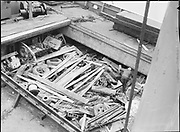 "9904-B06C. ""M. S. Idaho. Scrap cargo. Terminal #1. February 10, 1951"" (no story in newspaper)"