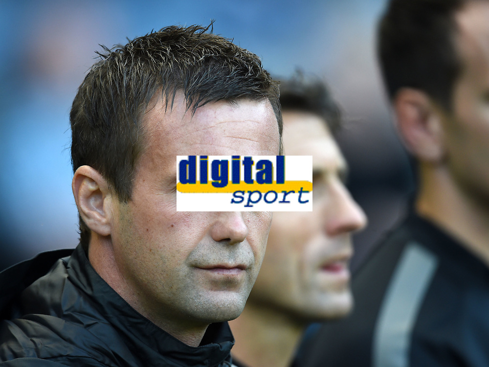 06/08/14 UEFA CHAMPIONS LEAGUE 3RD QUALIFYING RND 2ND LEG<br /> CELTIC v LEGIA WARSAW<br /> BT MURRAYFIELD STADIUM - EDINBURGH<br /> Celtic manager Ronny Deila