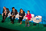 Greta Thunberg speaking at the United Nations Climate Action Summit on September 23, 2019.