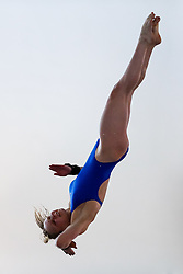 Robyn Birch of Plymouth Diving competes in the Womens 10m Platform Final - Photo mandatory by-line: Rogan Thomson/JMP - 07966 386802 - 21/02/2015 - SPORT - DIVING - Plymouth Life Centre, England - Day 2 - British Gas Diving Championships 2015.