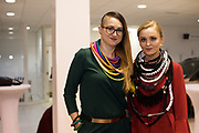 21/02/2018 REPRO FREE  The 2018 Irish Fashion Innovation Awards was launched at Monaghans & Sons Ltd showrooms.<br /> <br /> The 2018 Irish Fashion Innovation Awards take place on March 22nd at The Galmont Hotel & Spa, Galway<br /> At the stylish launch was attended by designer Karolina Sexton and Catwalk model Ruth.<br />  Photo:Andrew Downes, XPOSURE