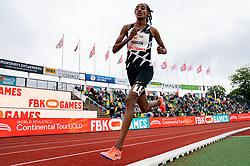 SifanHassanof Netherlands in action on the 10000 meter during FBK Games 2021 on 06 june 2021 in Hengelo.