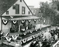 1956 Dedication of the DeMille/Lasky barn at Paramount Studios