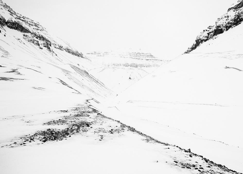 Mountains, Spitsbergen, Svalbard