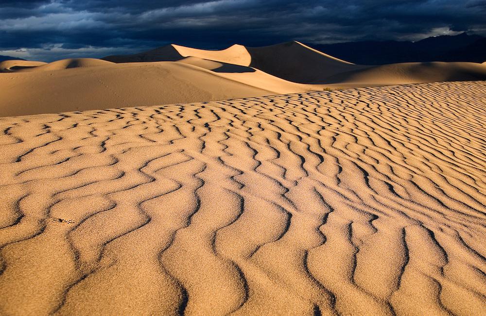 Morning in Death Valley, California.