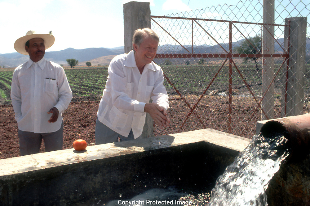 5/2/1979.Jimmy Carter in Mexico ..Photo by Dennis Brack