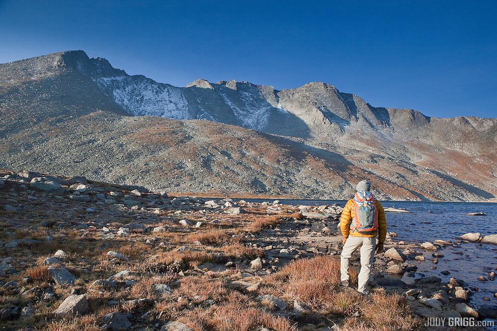 Summit Lake - Mount Evans Wilderness Area