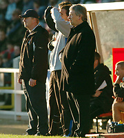 Fotball<br /> England 2004/2005<br /> Foto: SBI/Digitalsport<br /> NORWAY ONLY<br /> <br /> Swindon Town v Sheffield Wednesday <br /> FA Cup<br /> <br /> Wednesdeay manager Paul Sturrock looks on at the game.