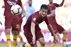 October 20, 2018 - Rome, Rome, Italy - Cengiz Under of AS Roma during the Serie A match between Roma and SPAL at Stadio Olimpico, Rome, Italy on 20 October 2018  (Credit Image: © Giuseppe Maffia/NurPhoto via ZUMA Press)