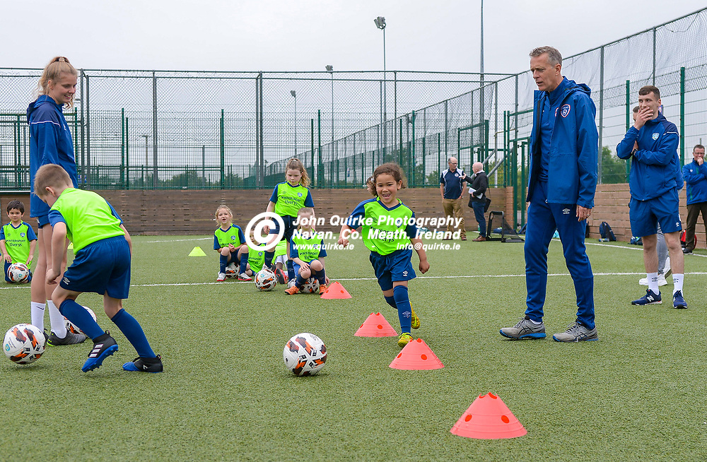 at the FAI Summer Soccer Schools at MDL, Navan.<br /> <br /> Photo: GERRY SHANAHAN-WWW.QUIRKE.IE<br /> <br /> 01-07-2021