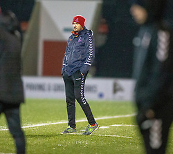 Airdrie's manager Ian Murray. Airdrie 0 v 1 Arbroath, Scottish Football League Division One played 15/12/2018 at Airdrie's Excelsior stadium.