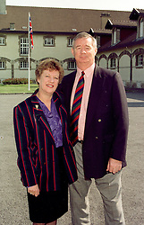 MR & MRS JOHN PRICE, he is the former cricketer and she is the Director of the Lady Taverners, at a luncheon in France on April 23rd 1997.LXX 43