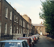 Old amateur photos of Dublin streets churches, cars, lanes, roads, shops schools, hospitals, Streetscape views are hard to come by while the quality is not always the best in this collection they do capture Dublin streets not often available and have seen a lot of change since photos were taken Mountpleasant Avenu, Square, Phoenix Park Cottage May 1987