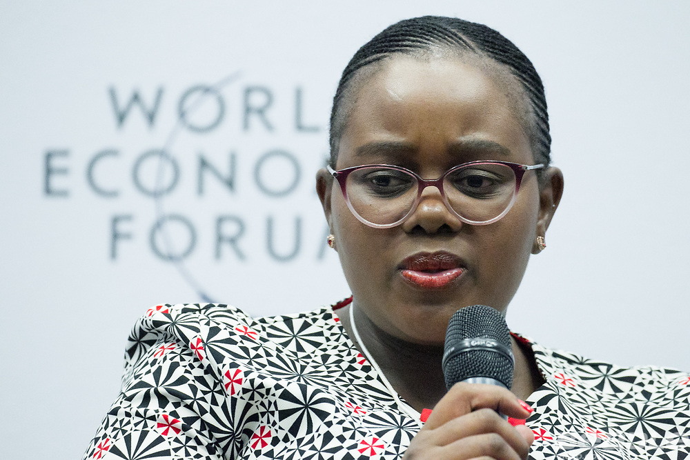 Mmamoloko Nkhensani Kubayi, Minister of Energy<br /> Ministry of Energy of South Africa at the World Economic Forum on Africa 2017 in Durban, South Africa. Copyright by World Economic Forum / Greg Beadle